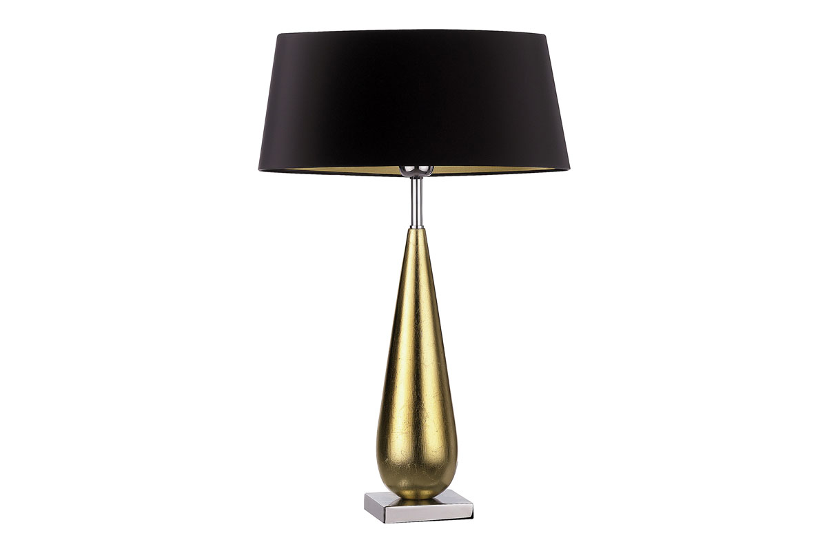 Bello Tear Table Lamp - Gold - Lathams
